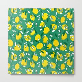 Limon Metal Print