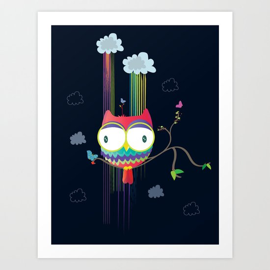 Colorfowl Art Print