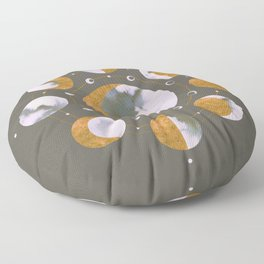 Lunar Dark Floor Pillow