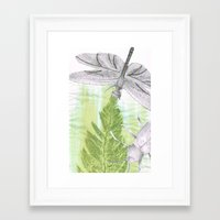 bugs Framed Art Prints featuring Bugs by Marlidesigns