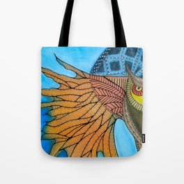 Annunciation of Kame Tote Bag