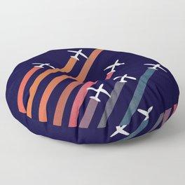 Aerial acrobat Floor Pillow