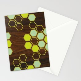 Hex in Green Stationery Cards