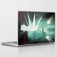 suit Laptop & iPad Skins featuring light suit by Vin Zzep