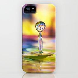 Colorful Splash iPhone Case