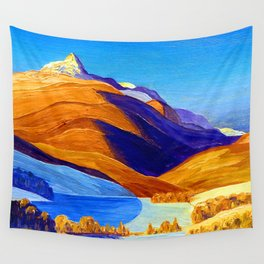Rockwell Kent Vermont Study Wall Tapestry