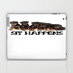 Sit Happens Laptop & iPad Skin