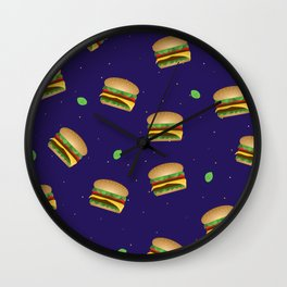 Cheeseburger Dreams Wall Clock