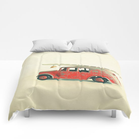 Red Fire Engine Comforters