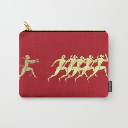 Ancient greece - red Carry-All Pouch