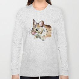 Little Brown Mouse Long Sleeve T-shirt