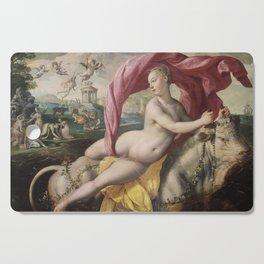 Martin de Vos - The Rape of Europa Cutting Board