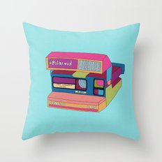 Captures Great Moments (color fun) Throw Pillow
