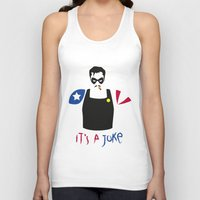 watchmen Tank Tops featuring [ Watchmen ] The Comedian by Vyles