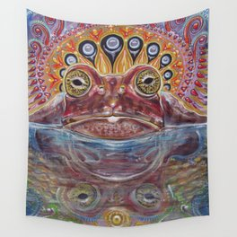 Zabka (Little Frog) 5-MEO Bufo Toad Wall Tapestry