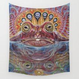 Zabka (Little Frog) 5-MEO Bufo Toad Wall Tapestry