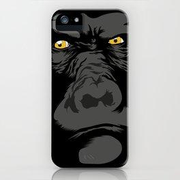 Gorila Eyes iPhone Case