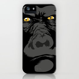Gorila Eyes iPhone Case
