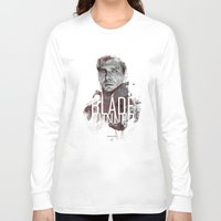 runner Long Sleeve T-shirts featuring Blade Runner by Duke Dastardly