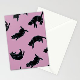 Falling Cats Stationery Cards