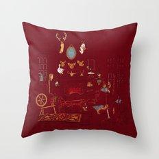 The Collector Throw Pillow