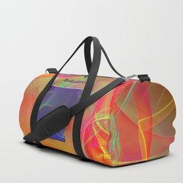 Arkansas Map Duffle Bag