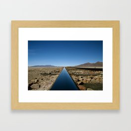 Long Line to Bolivia Framed Art Print