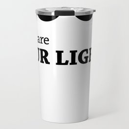 There are FOUR LIGHTS! Travel Mug