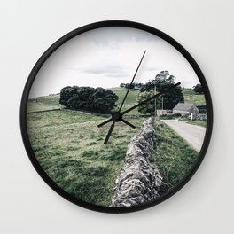 a day in the Peaks Wall Clock
