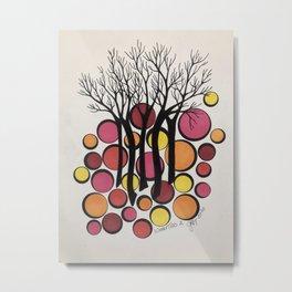 Winter Trees 2 Metal Print