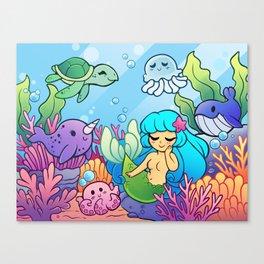 Sea Cuties Canvas Print