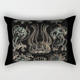 """""""Narcomedusia"""" from """"Art Forms of Nature"""" by Ernst Haeckel Rectangular Pillow"""