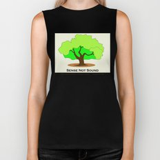 Oak Tree Flag Biker Tank