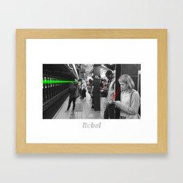 Rebel 1 Framed Art Print