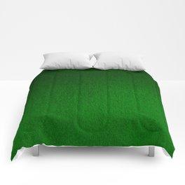 Emerald Green Ombre Design Comforters