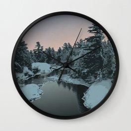 Temagami River Provincial Park Wall Clock