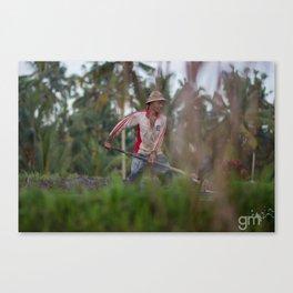 Farmer Life Canvas Print