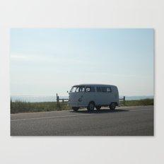 VW Minivan Canvas Print