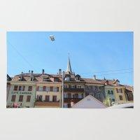 switzerland Area & Throw Rugs featuring Switzerland 2010 by HDSL