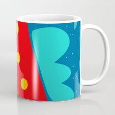 Red Fish illustration for kids Coffee Mug