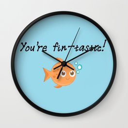 You're fintastic! Wall Clock