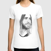 jared leto T-shirts featuring Jared Leto by Art by Cathrine Gressum