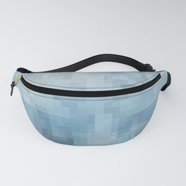 Abstract blue pattern 3 Fanny Pack