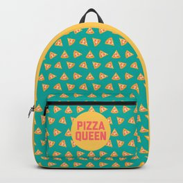 Pizza Queen Funny Quote (Graphic) Backpack