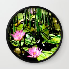 The Pond I Wall Clock