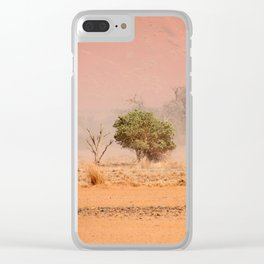NAMIBIA ... through the storm III Clear iPhone Case