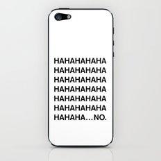 HAHA iPhone & iPod Skin