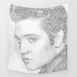 Elvis: Suspicious Minds Wall Tapestry