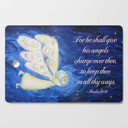 Care of the Soul Angel Cutting Board