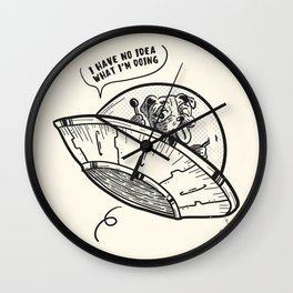 No idea Wall Clock